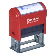 WES S-1540 (15х40 mm) Автоматическая оснастка для печати.