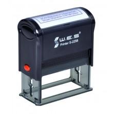 WES S-2258 (22х58 mm) Автоматическая оснастка для печати.