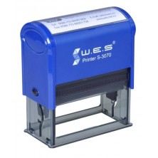 WES S-3070 (30х70 mm) Автоматическая оснастка для печати.