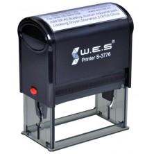 WES S-3776 (37х76 mm) Автоматическая оснастка для печати.